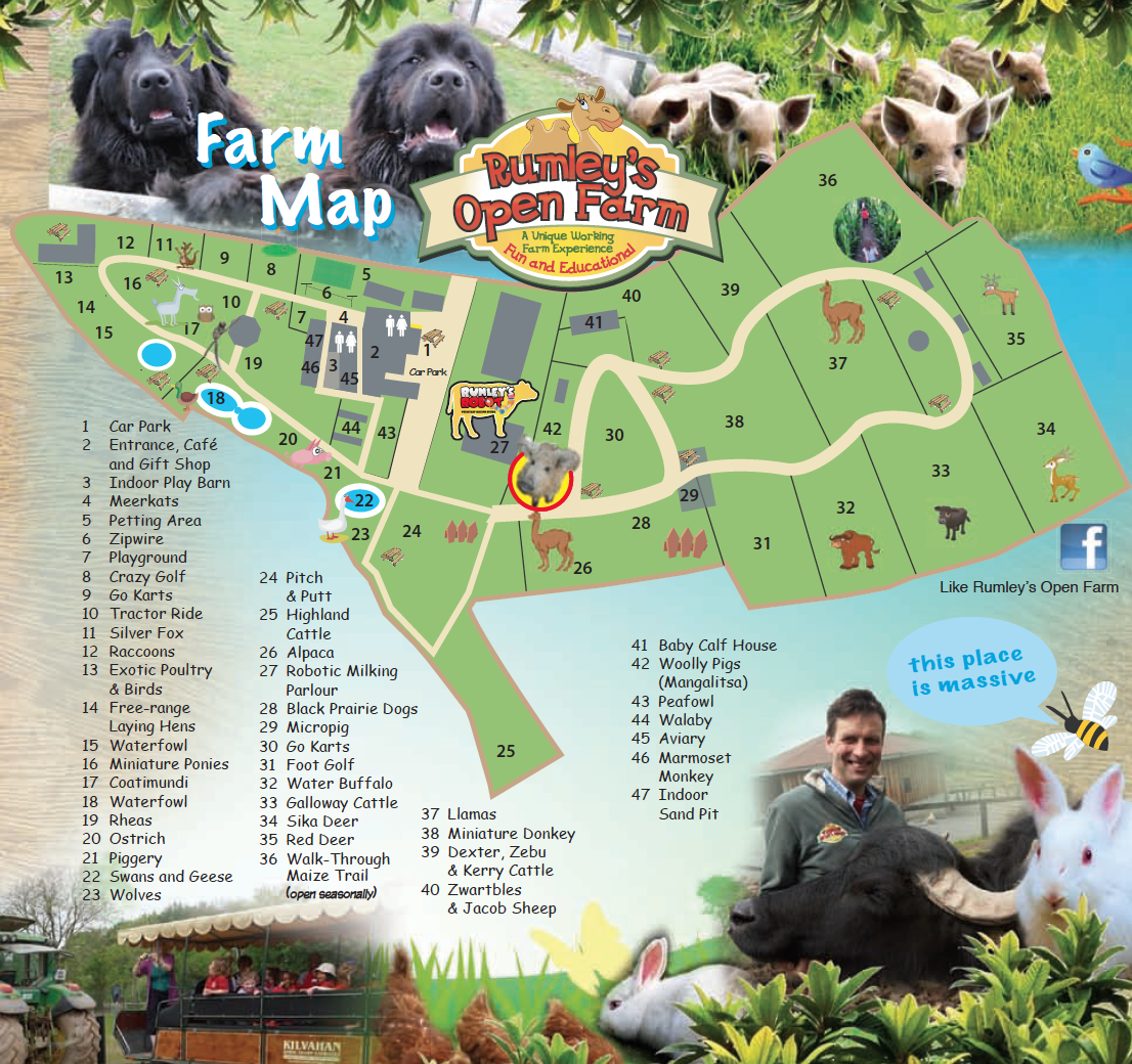 Rumleys Farm Map