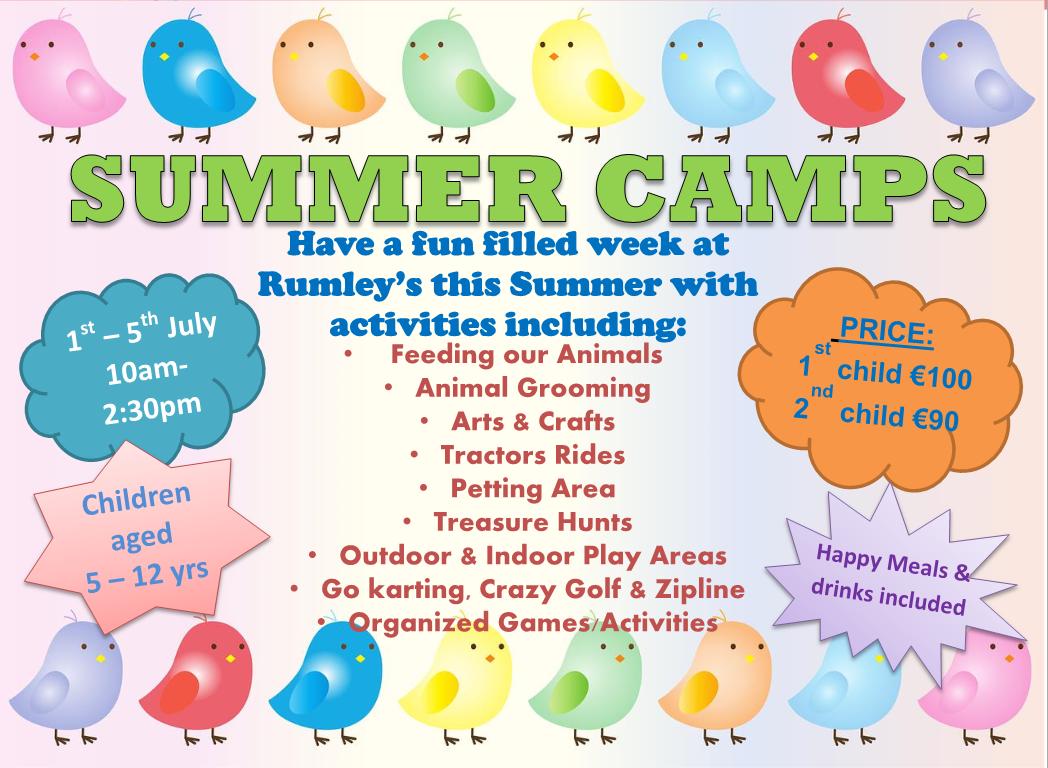 Summer Camp - Rumleys Open Farm - Easter at Rumleys Open Farm